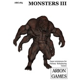 Paper Miniatures: Monsters III