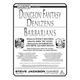 GURPS Dungeon Fantasy Denizens: Barbarians