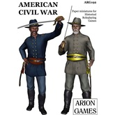 Paper Miniatures: American Civil War Set