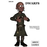 Paper Miniatures: Dwarfs Set