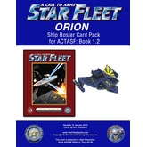 A Call to Arms: Star Fleet Book 1.2: Orion Ship Roster Card Pack