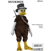 Paper Miniatures: Duckmen Set