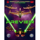 Federation Commander: Lost Empires Preview Ship Card Pack