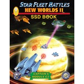 Star Fleet Battles: Module C2 – New Worlds II SSD Book (B&W)