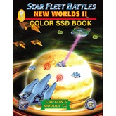 Star Fleet Battles: Module C2 – New Worlds II SSD Book (Color)