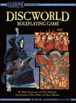 Gurps Discworld Roleplaying Game 2nd Edition -  Steve Jackson Games