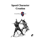 Speed Character Creation