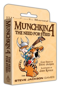Munchkin 4 Need for Steed (T.O.S.) -  Steve Jackson Games