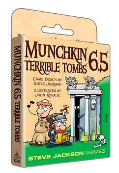 Munchkin 6.5 Terrible Tombs (T.O.S.) -  Steve Jackson Games
