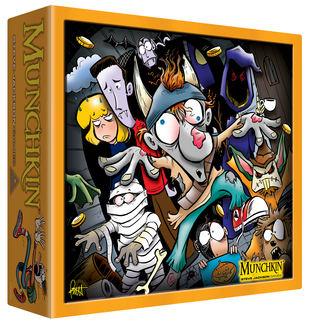 Munchkin Halloween Monster Box (T.O.S.) -  Steve Jackson Games