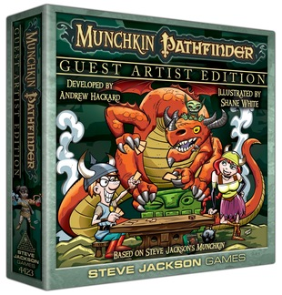 Munchkin Pathfinder Guest Artist Edition (T.O.S.) -  Steve Jackson Games