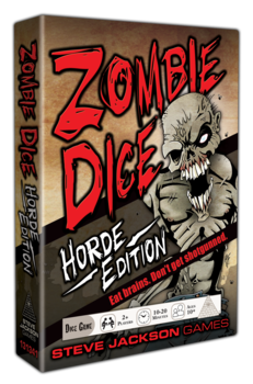 Zombie Dice Horde Edition -  Steve Jackson Games