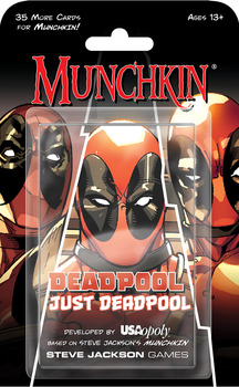 Munchkin: Deadpool Just Deadpool -  Steve Jackson Games