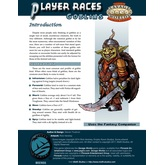 Player Races: Goblins