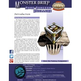 Monster Brief: More Dungeon Dwellers