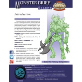Monster Brief: Golems