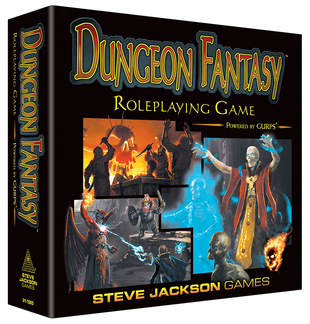 Dungeon Fantasy Roleplaying Game (T.O.S.) -  Steve Jackson Games