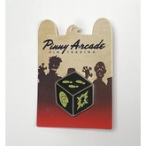Zombie Dice Pinny Arcade Pin
