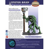 Monster Brief: Mythos Monsters