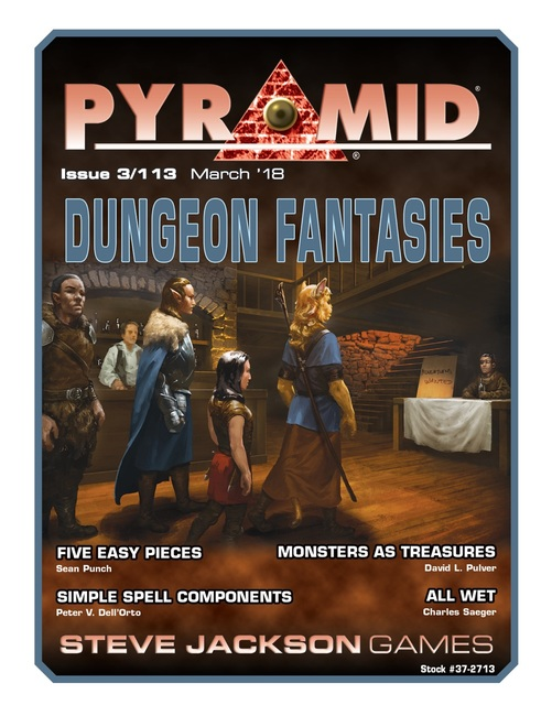 Pyramid #3/113: Dungeon Fantasies