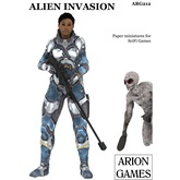 Paper Miniatures: Alien Invasion Set