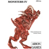 Paper Miniatures: Monsters IV