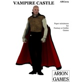 Paper Miniatures: Vampire Castle Set