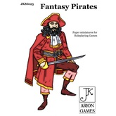 Paper Miniatures: John Kapsalis Fantasy Pirates