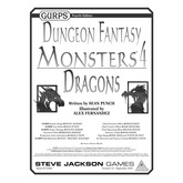 GURPS Dungeon Fantasy Monsters 4: Dragons