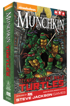 Teenage Mutant Ninja Turtles: Munchkin  -  IDW Games