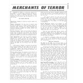 Merchants of Terror (1st Edition)
