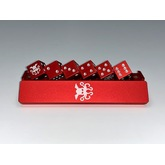 Metal Cthulhu D6 Dice Set (Red)