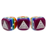 Illuminati Rainbow d6 Dice