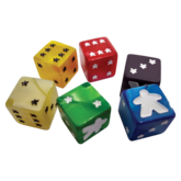 Meeple d6 Dice Set