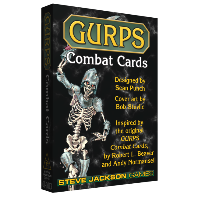 GURPS Combat Cards