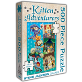 Kitten Adventurers 500 Piece Puzzle