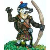 Off the Wall Armies: Highlander Badger Longbowman