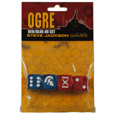 Ogre Dice Set (Red/Blue)