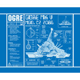Ogre Blueprint Poster