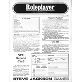Roleplayer #01