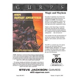 GURPS Classic: Fantasy: Fighters of the Purple Rage
