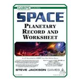 GURPS Space: Planetary Record and Worksheet