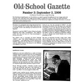 Old School Gazette #3