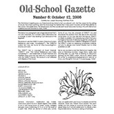 Old School Gazette #6