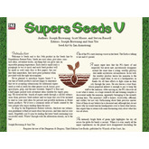 Seeds: Supers V