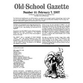 Old School Gazette #11