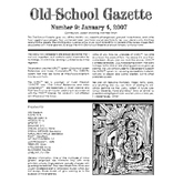 Old School Gazette #9