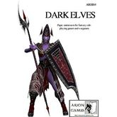 Paper Miniatures: Dark Elves