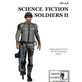 Paper Miniatures: Science Fiction Soldiers II