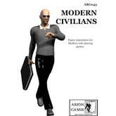 Paper Miniatures: Modern Civilians